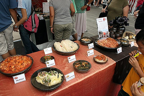 Nine Kinds of Kimchi