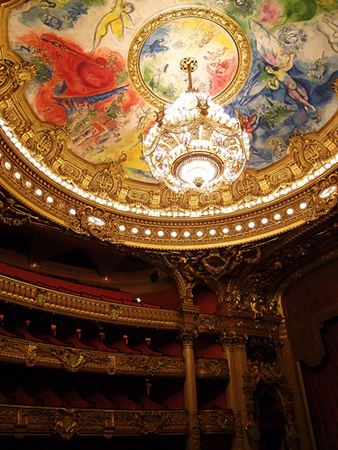 My phantom of the opera paris opera house palais garnier chandelier aloadofball Images