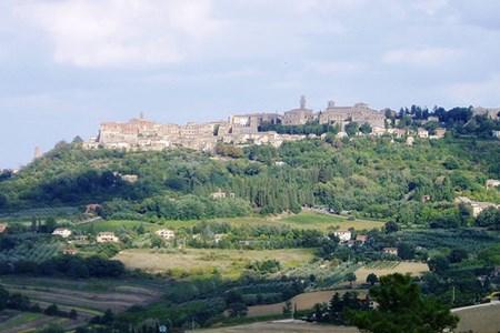View of San Gigmignano Tuscany