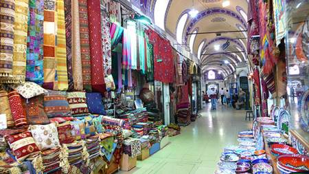 Carpets at the Grand Bazaar