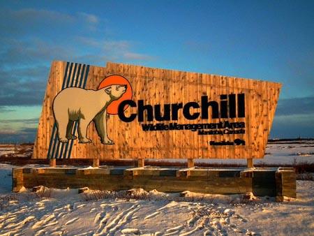 Churchill Signage