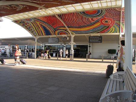 Darwin Airport Exit