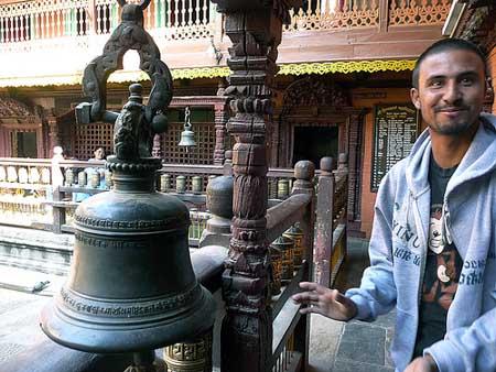 Nepali Guide at Durban Square