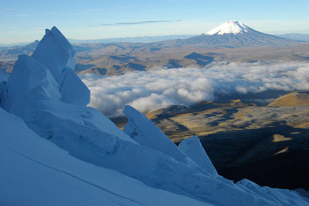 View to Cotopaxi