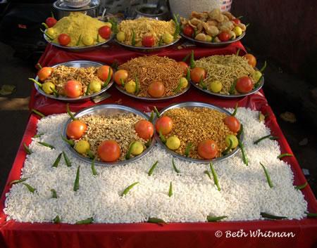 India Rice Vendor