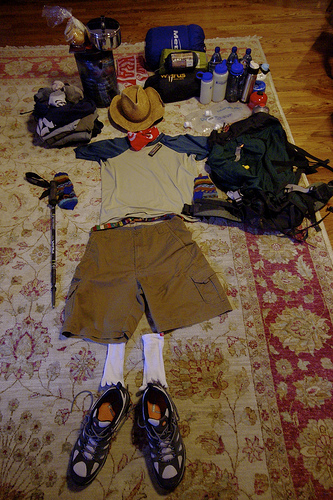 Packing for Campin