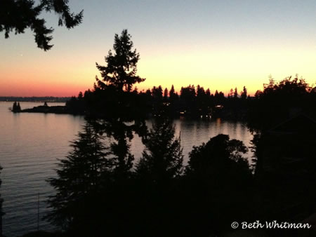 Photo of the Day ~ Seattle Sunset