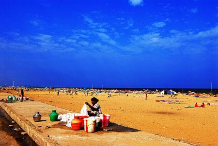 Marina Beach India