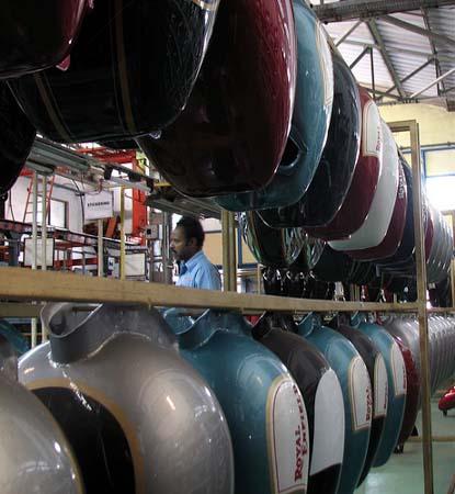 Royal Enfield Factory