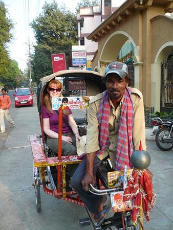 Rickshaws in India