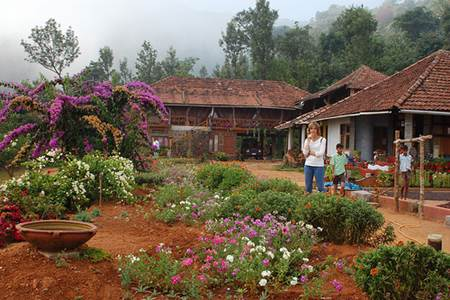Woman at Homestay Place