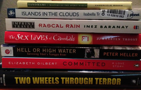 On My Bookshelf in 2014 ~ Travel Book Recommendations
