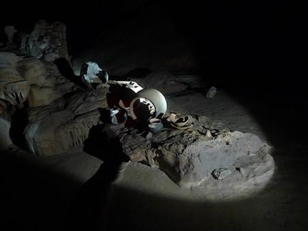Artifacts in Actun Tunichil Muknal