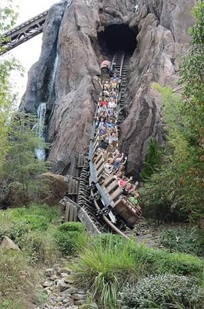 Disney World Rollercoaster
