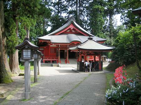 Shrine at Mt. Haguro