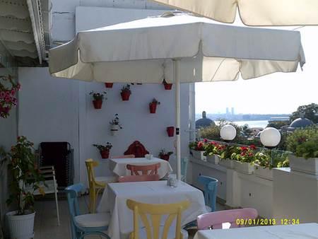 Hotel Rooftop Terrace