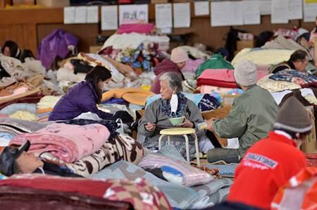 Japan Earthquake Shelter