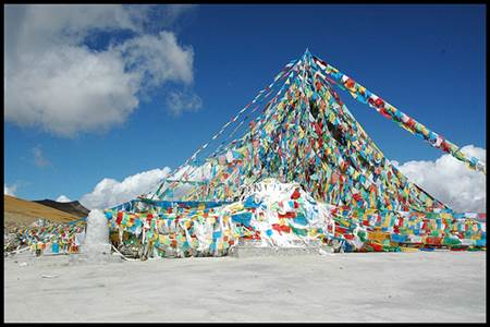Kamba-la Pass Prayer Flags