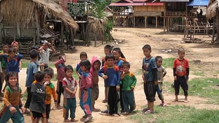 Lao Village Children
