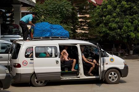 Laos Minivan