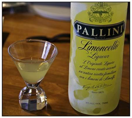 Limoncello Liqueur