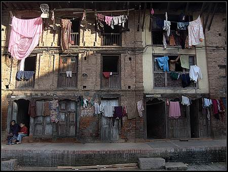 Nepal Apartment Building