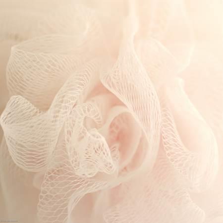 Pink Shower Pouf