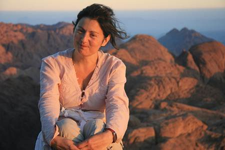 Woman on Mount Sinai