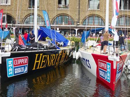 Docked Henri Lloyd Clipper