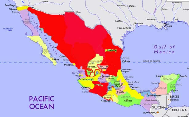 Safe Travel Areas In Mexico Distination Co