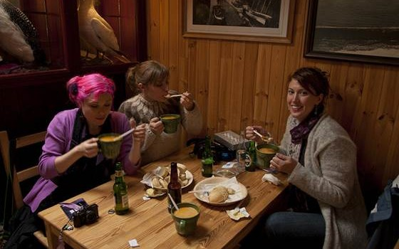 Dining in Iceland