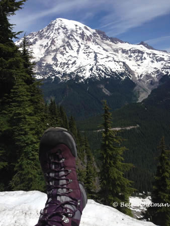 North Face Verbera Boots Mt. Rainier