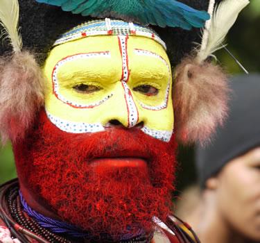Papua New Guinea Mt Hagen Show Cultural Tour