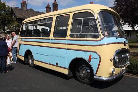 1969 Bedford J2 Coach