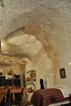 Ancient Cave Dwelling Italy