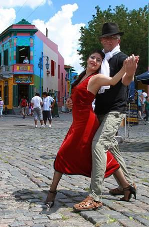 Buenos Aires Street Tango