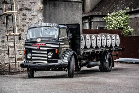 Dalmore Distillery Truck