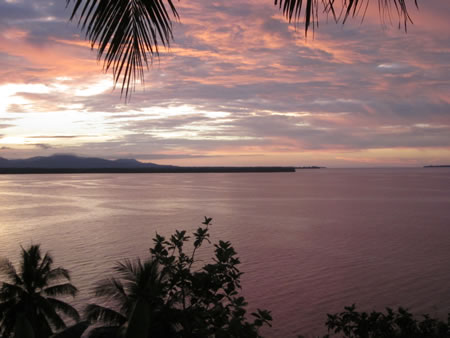 Papua New Guinea Sepik Sunset