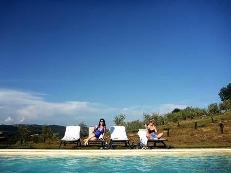 Tuscany Villa Poolside