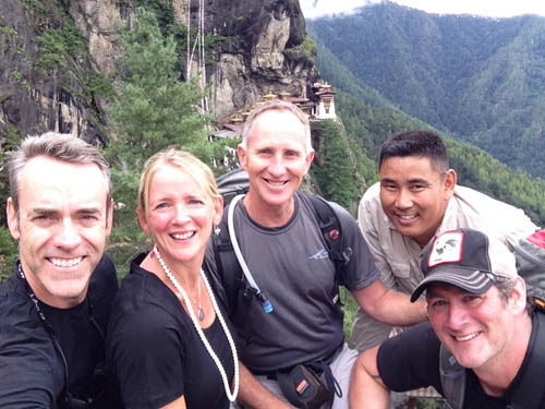 Group at Tigers Nest