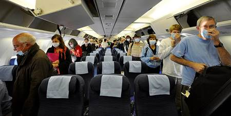 Getting Sick on a Plane