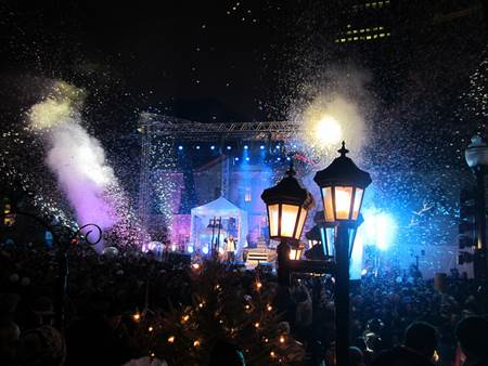 New Year's Eve - Quebec
