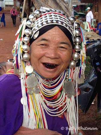 Ahka Woman in Northern Thailand