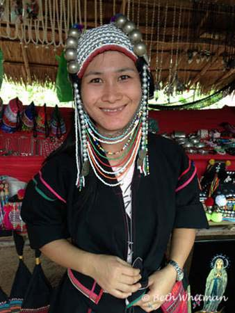 Ahka Woman in Northern Thailand