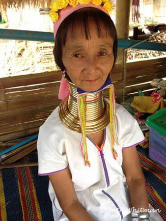 Longneck Woman in Northern Thailand