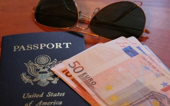 Passport and Euros