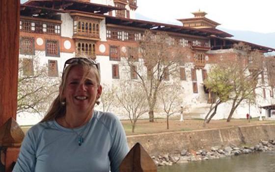 Beth - Punakha Dzong