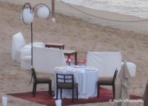 Beach dinner 12 tribes restaurant