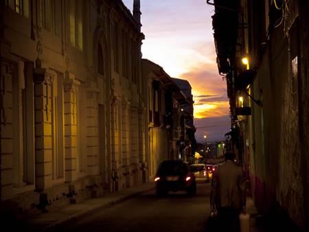 La Candelaria at Night