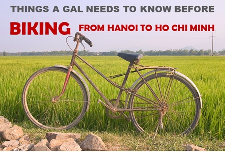 Biking from Hanoi to Ho Chi Minh City